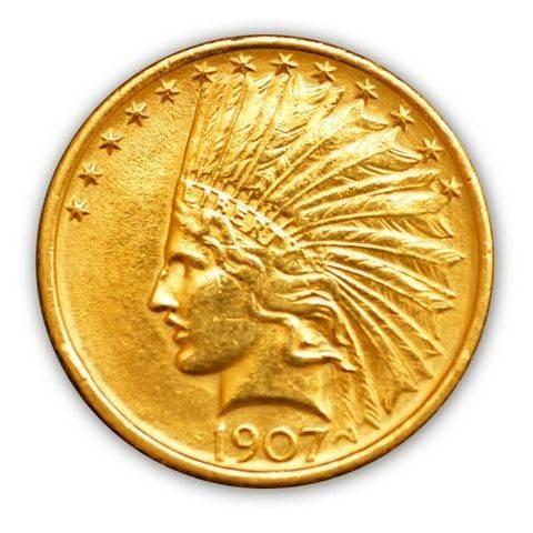 Goldmünze - 5$ Indianer - Vereinigte Staaten von Amerika   Beispielbild