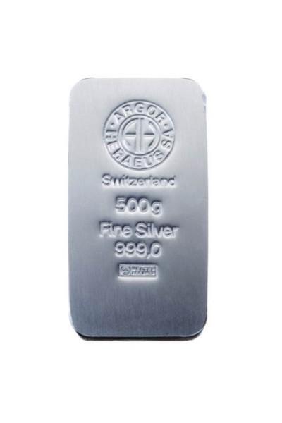 Silberbarren 50 Gramm von Heraeus