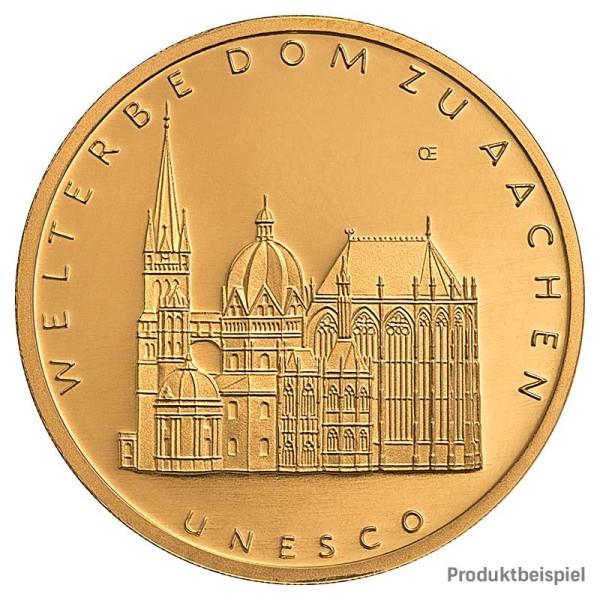 Goldmünze 100 Euro Deutschland - Vorderseite