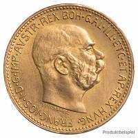 Goldmünze - 10 Kronen Austria - Österreich - Vorderseite