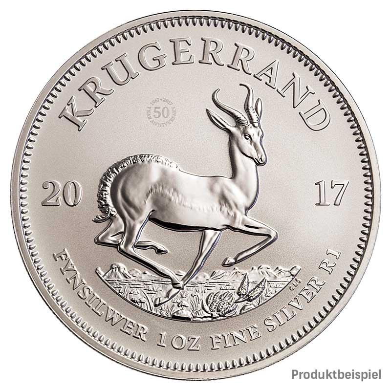Krügerrand Silber 1 Unze 2017