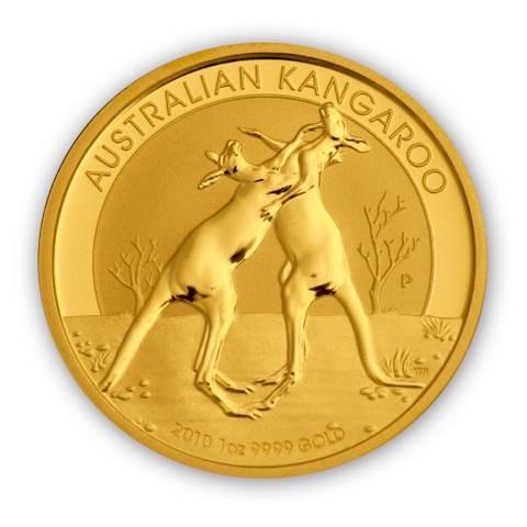 Goldmünze - Kangaroo 1 Unze - Australien | Beispielabbildung