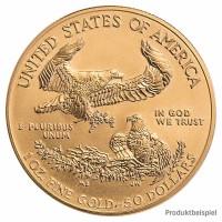 Goldmünze - American Eagle - 1 Unze - Vereinigte Staaten von Amerika