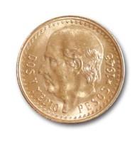 Goldmünze - 2,5 Pesos - Mexiko | Beispielbild