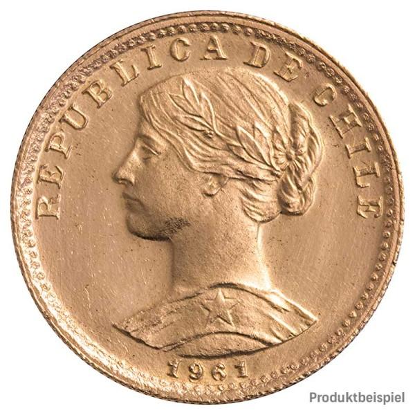 Goldmünze - 20 Pesos - Chile - Vorderseite | Beispielbild