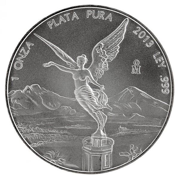 Silbermünze - Liberdat 1 Unze - Mexiko