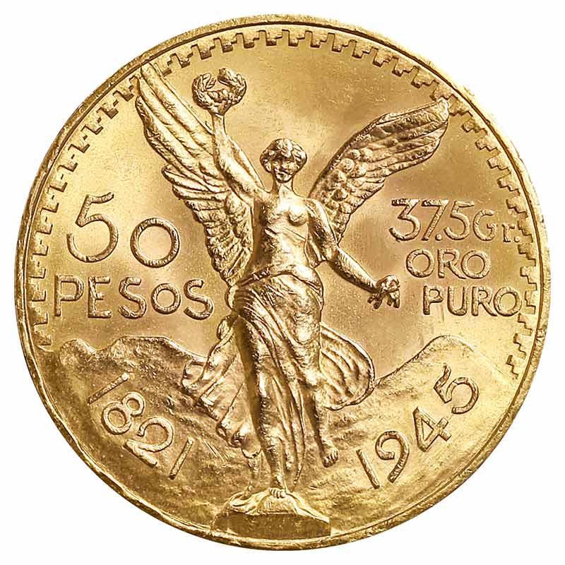 50 Mexiko Peso Centenario