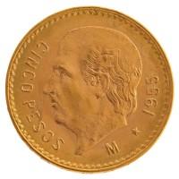 Goldmünze - 5 Pesos - Mexiko | Beispielbild