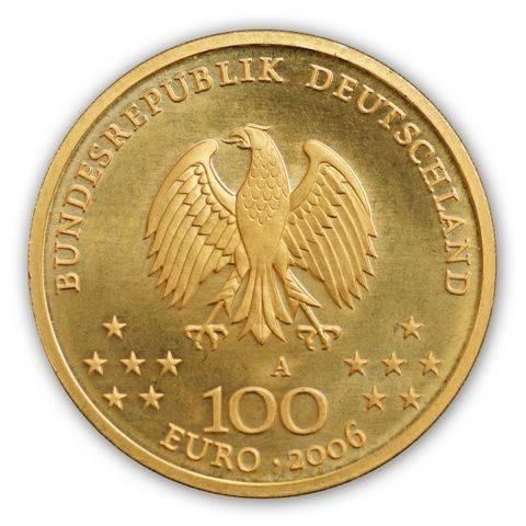 Goldmünze 100 Euro Deutschland