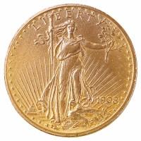 Goldmünze - 20$ St. Gaudens Double Eagle - Vereinigte Staaten von Amerika - Vorderseite | Beispielbild