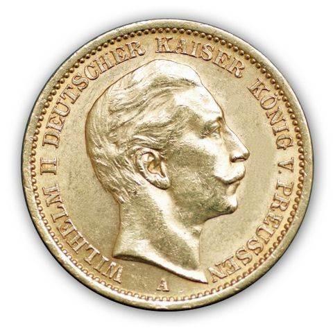 Goldmünze 20 Mark Kaiserreich