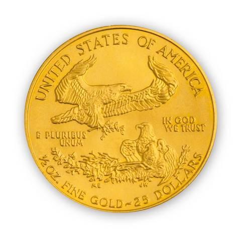 Goldmünze - American Eagle - 1/2 Unze - Vereinigte Staaten von Amerika