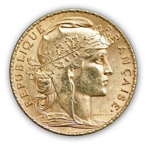 Goldmünze - 20 Franc - Frankreich | Beispielbild