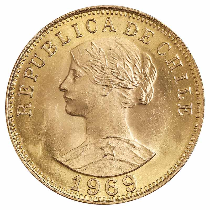 50 Pesos Chile