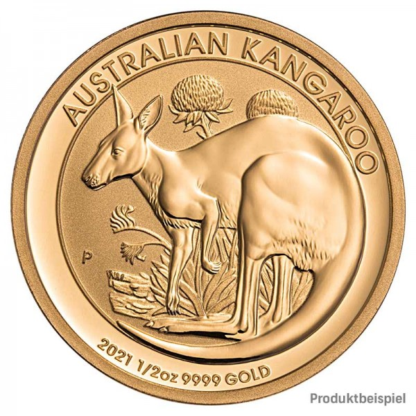 Goldmünze - Kangaroo 1/10 Unze - Australien