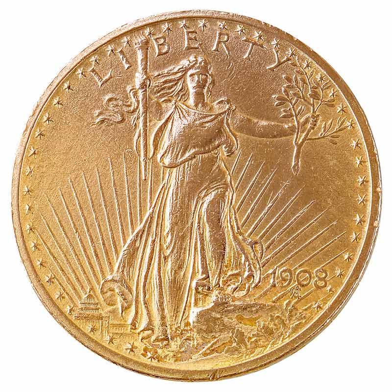 20$ St. Gaudens Double Eagle