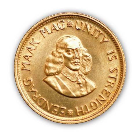 Goldmünze - 2 Rand - Südafrika