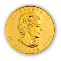 Goldmünze Maple Leaf Kanada 1/2 Unze | Beispiel