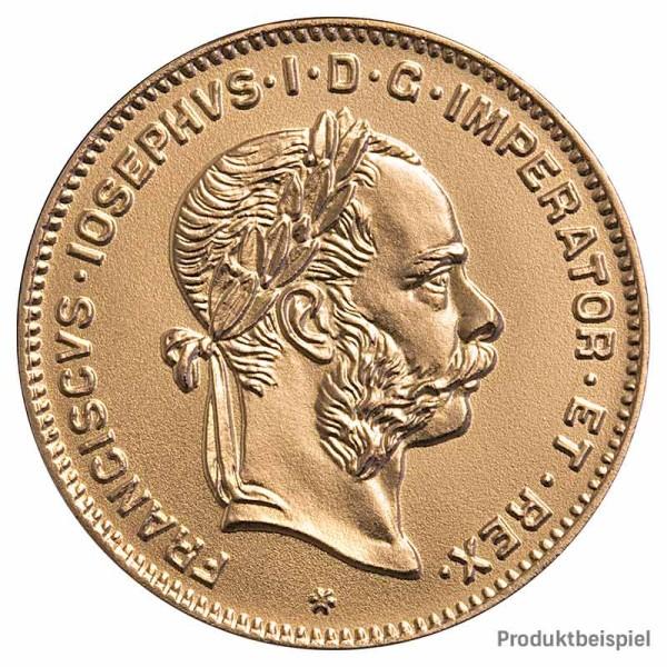 Goldmünze 4 Florin Kaiserreich Österreich - Vorderseite