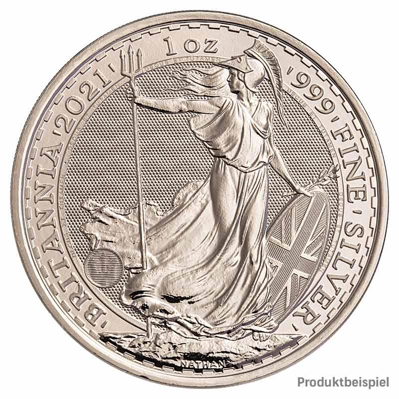 Britannia Silber 1 Unze