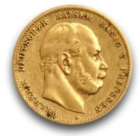 Goldmünze - 10 Mark - Kaiserreich   Beispielbild