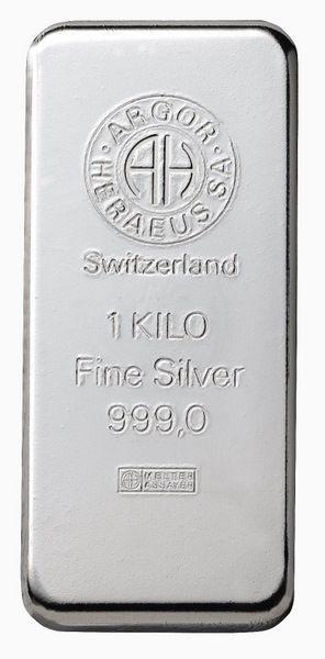 Silberbarren 1000 Gramm