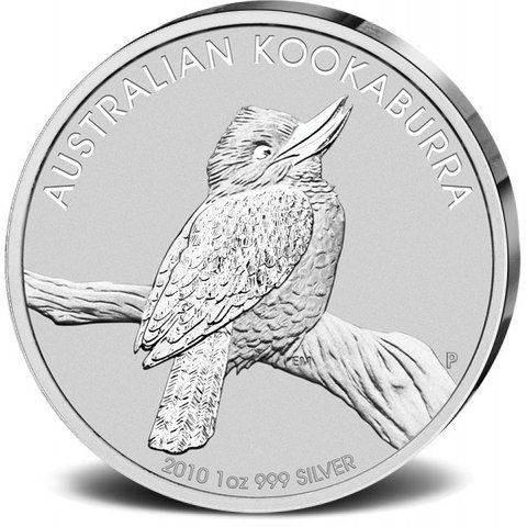 Silbermünze - Kookaburra 1 Unze - Australien