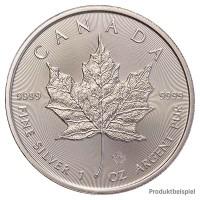 Silbermünze - Maple Leaf 1 Unze - Kanada