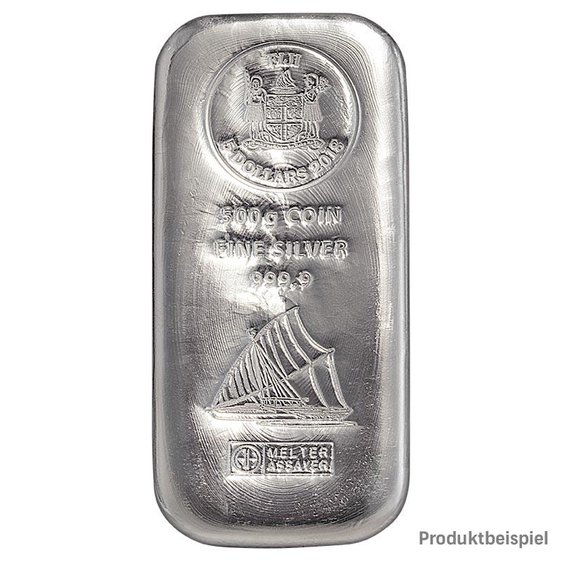 Münzbarren Silber 500g