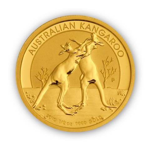 Goldmünze - Kangaroo 1/2 Unze - Australien
