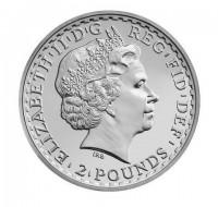 Silbermünze - Britannia 1 Unze - Großbritannien