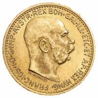 10 Kronen Goldmünze - Franz Joseph I - Austria - Österreich - Vorderseite | Beispielbild
